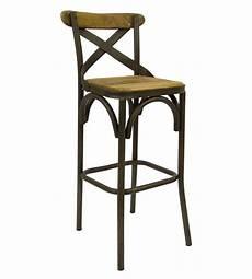 sgabelli di legno sgabello in ferro battuto lavorato e seduta in legno a
