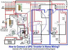 home inverter wiring diagram how to connect automatic ups inverter to the home supply system