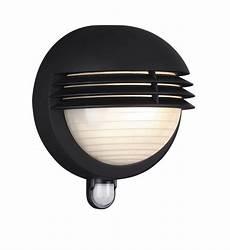massive by philips boston bulkhead outdoor wall light pir sensor light black 60w ebay