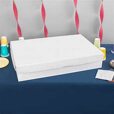 28 quot quot 5 quot white corrugated full sheet cake bakery box 25 bundle