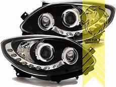 led tagfahrlicht optik scheinwerfer f 252 r renault twingo 2