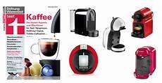 12 kaffee kapselmaschinen im test bei stiftung warentest