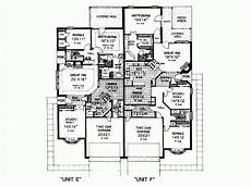 house plans eplans eplans mediterranean house plan duplex growing house