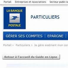 Banque Postale Des Particuliers Productionspalmares