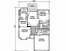 1900 square foot house plans traditional style house plan 4 beds 2 50 baths 1900 sq