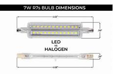7w r7s led light bulb 900 lumens 50w halogen