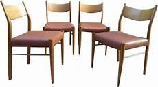 chaises italiennes design suite de 4 chaises italiennes vintage par gessef design
