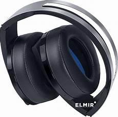 наушники sony playstation wireless headset 7 1 platinum