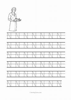 free letter n tracing worksheets 24168 free printable tracing letter n worksheets for preschool with images letter n worksheet