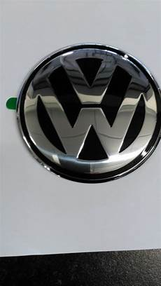 vw beetle 01 05 solid rear boot badge emblem motif black