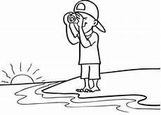 Malvorlagen Sommer Jung Kostenlose Malvorlage Sommer Mit Schwimmreifen Zum