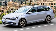Golf 7 Kombi - 2017 volkswagen golf 7 variant facelift driving footage