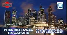 prediksi singapore hari ini 25 november 2020