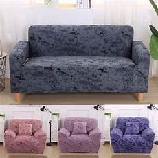 Colorful Protector Cover by Color Purple Sofa Cover Elastic Sofa Slipcover