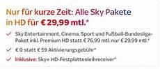 Sky Angebot 187 November 2019 187 Sky Bundesliga Ab 19 99