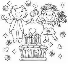Malvorlagen Wedding 9 Best Ausmalbilder Hochzeit Images Wedding With