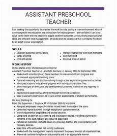 20 teacher assistant description resume teacher