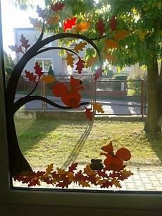 Fensterdeko Herbst Basteln - pin аня auf осень bastel herbst fensterdeko herbst