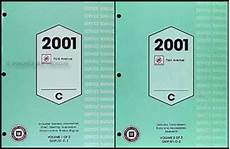 car repair manuals online pdf 2001 buick park avenue security system 2001 buick park avenue repair shop manual original 2 volume set
