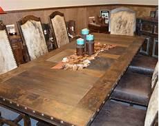 western dining room table western hacienda dining room set