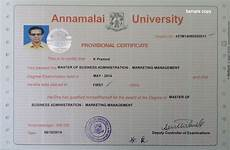annamalai university degree certificate form pune institute certificate sle