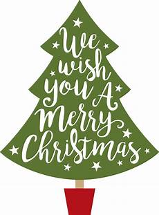 wish you a merry christmas tree svg cut file snap click supply co