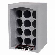 Casier Vin Polystyrene Lot De 2 Casiers 12 Bouteilles Gris Boutique En Ligne Eda