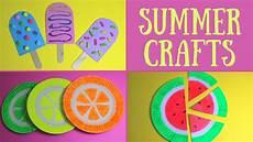 basteln sommer kinder easy summer crafts for summer craft ideas
