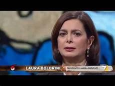 boldrini presidente boldrini intervistata da floris 17 novembre