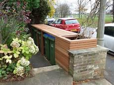 mülltonnen im vorgarten verstecken 10 ideas to hide those trash bins bee of honey dos