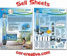 product sell sheets and flyers cor creative com