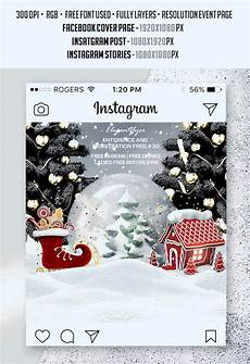 merry christmas premium animated instagram stories instagram facebook cover by