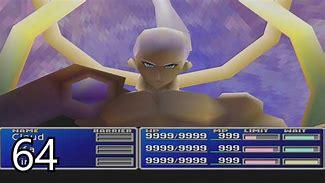 Image result for FF7 Sephiroth Final Battle