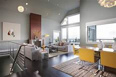 Wohnzimmer Farben Kombinieren - gray and yellow living rooms photos ideas and inspirations