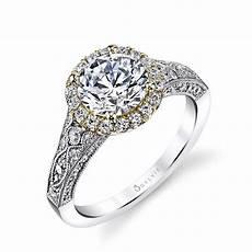 Engagement Rings Vintage Inspired cheri vintage inspired halo engagement ring sylvie