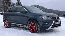 seat ateca snow experience 2017 test review