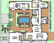 house plans with pools in the middle u shaped house plans with pool in the middle courtyard