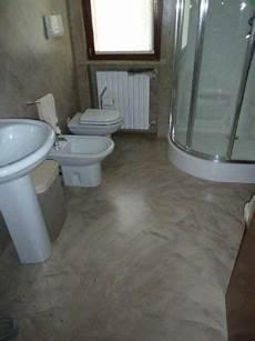 resine per bagni bagno in resina nocciola spatolata clever house brescia