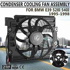 for bmw e39 97 98 auxiliary fan a c condenser radiator electric cooling 800000550686 ebay