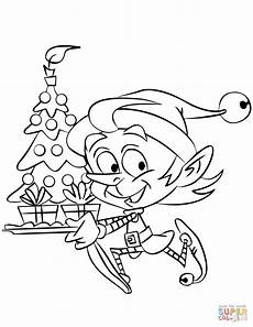 running with a tree coloring page free