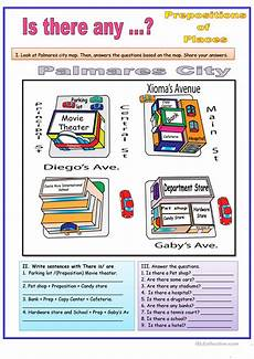 grammar worksheet there is there are with prepositions 25093 there is prepositions of places worksheet free esl printable worksheets made by teachers
