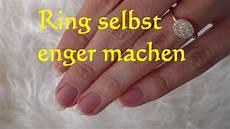 Lifehack Ring Selbst Verkleinern Ring Selbst Enger Machen