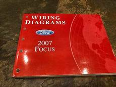 electric and cars manual 2007 ford focus electronic valve timing 2007 ford focus wiring diagrams electrical service manual ebay