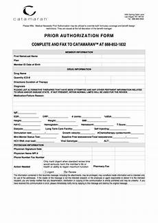 prior authorization form printable pdf download