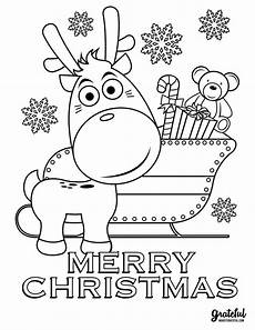 5 christmas coloring pages your kids will love