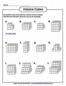 volume geometry with cubic units pdf math worksheets pinterest search view source and