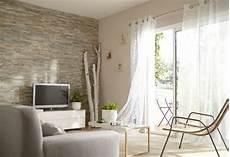 de parement salon mur de salon en plaquettes de parement decor ideas