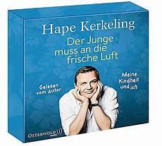 hape kerkeling der junge muss an die frische luft der junge muss an die frische luft 8 audio cds h 246 rbuch kaufen