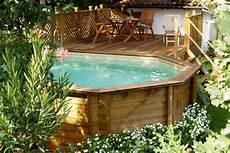 piscine hors sol bois id 233 es et conseils pour votre jardin