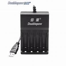Doublepow Slot Rechargeable Battery Charger by Doublepow 4 Slots Universal Standard Battery Rapid Charger